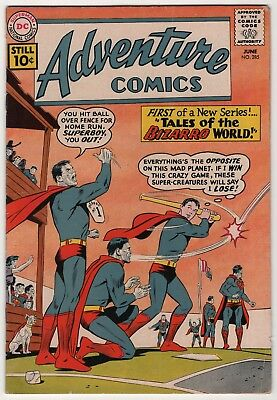 Adventure Comics #285 1st Tales of Bizarro World cover/story begins 1961 DC