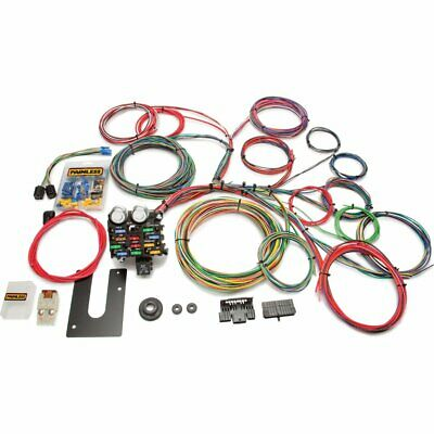 Awesome Painless Wiring 10102 21 Circuit Classic Customizable Chassis Wiring Cloud Oideiuggs Outletorg