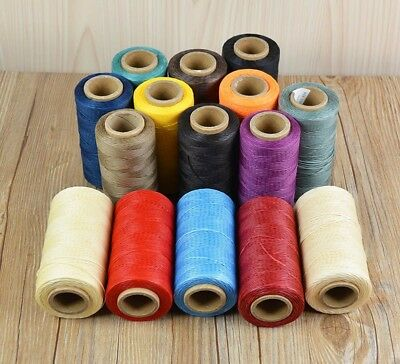 260m Sewing Thread Waxed Leather 1MM For Chisel Awl Shoes Luggage Set