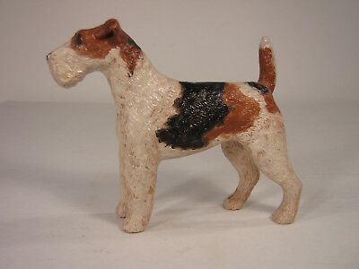 "3 1/2"" Wire Haired Fox Terrier Figurine"