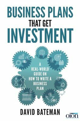 Business Plans That Get Investment by David Bateman (2017, Paperback)