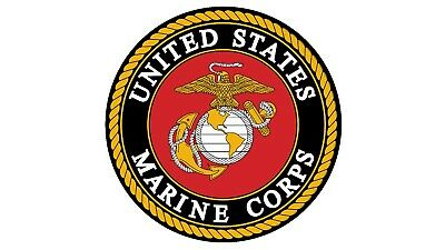 MAGNET USMC UNITED STATES MARINE CORPS Semper Fidelis Military Car Made in USA