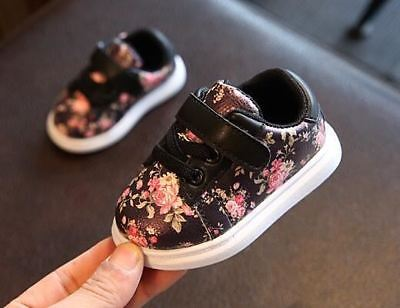 1e3820271 Cute Baby Shoes For Girls Soft Moccasins Shoe 2018 Spring Black Flower Baby  Girl