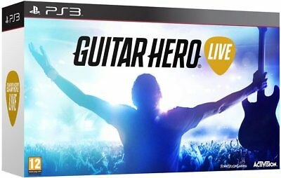 Guitar Hero Live - PlayStation 3 / PS3 (NEU & OVP!)