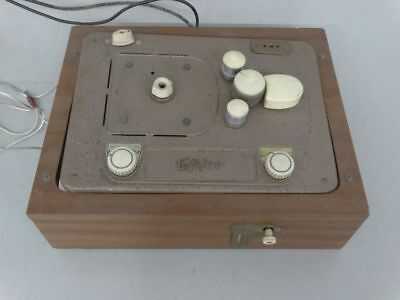 Tefifon Typ HS in Holzchassis - Schallband Abspielgerät vintage Phono - 1956