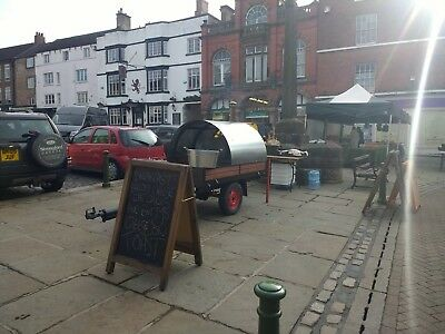 Wood Fried Pizza Oven Catering Trailer // Weddings & Festivals