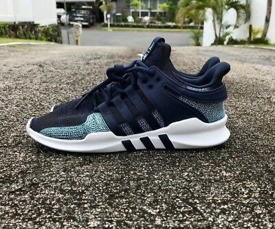 low priced 9fb93 7586b Adidas EQT Support ADV CK Parley Mens Size 11 Legend Ink Blue Spirit CQ0299