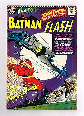 THE BRAVE and the BOLD #67 Batman & The Flash Carmine Infantino Art 5.0