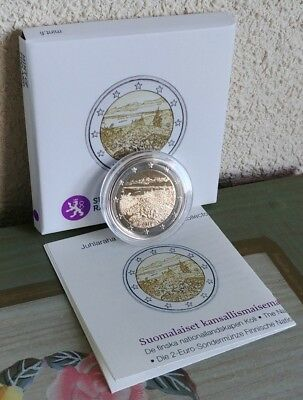"2E Commemorative Finland 2018 ""Koli"" Proof,"