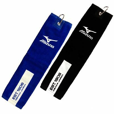"Mizuno 2018 Trifold Tour Golf Towel 16""x21""  - Swivel Clip Attached"