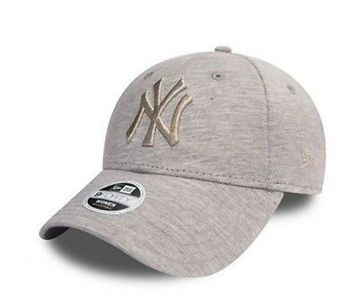 huge discount 8510d 5e312 ... canada new york yankees jersey new era cap 9forty strap grey cap new  one size women ...