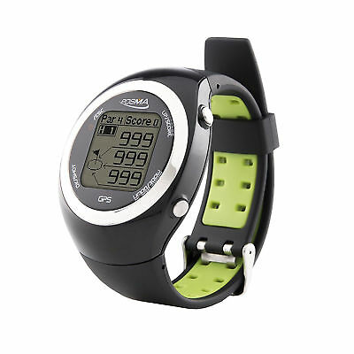 POSMA GT2 Golf Trainer + Activity Tracking GPS Golf Watch Range Finder - Green