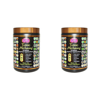 2X Dragon Herbs Tonic Alchemy Herbal Extract Organic Superfood Daily Supplement