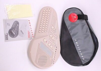 Suzuki Omnichord System OM-100 w/ Carrying Case TESTED ~ SEE NOTES