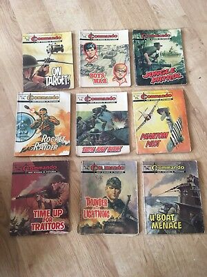 Commando comics job lot x 19