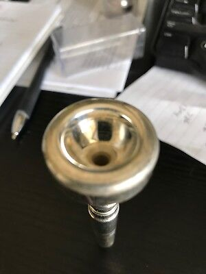 Curry Silver Trumpet Mouthpiece, 1BC