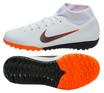 Nike Mercurial Superfly X 6 Academy TF (AH7370-107) Soccer Shoes Football  Boots 446574f319a7