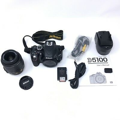Nikon D D5100 16.2MP Digital SLR Camera w/ 18-55mm VR Lens - 2564