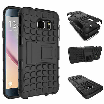 Black Phone Case For Samsung Galaxy Note 4 Kickstand Free Screen Protector