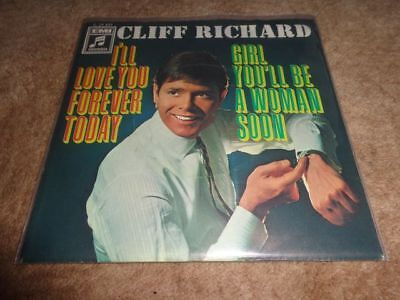 Cliff Richard    I'll love you forever today