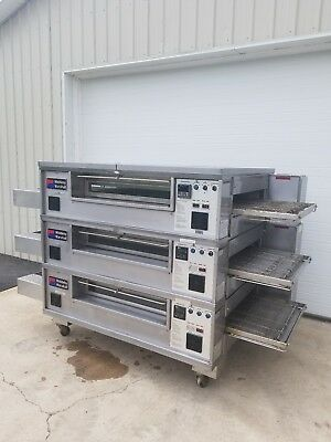 Middleby Marshall PS570S Triple Deck Conveyor Pizza Oven **EXCELLENT CONDITION**