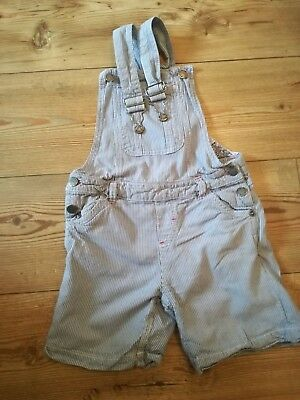 Fat Face Girls Dungarees Age 8-9. Good Condition