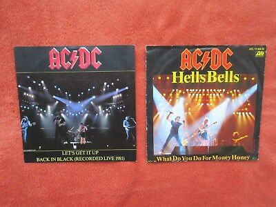 "AC/DC - Hells Bells  +  Let´s Get It Up  2 x 7"" (12"" / LP)"