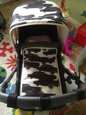 Andy Warhol Bugaboo Cars Pram Set For Cameleon