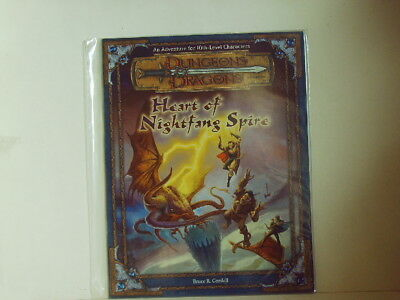 D&D * Heart of the Nightfang Spire - Adv. for 10th-Level - 2001 32 S. Sc.- engl.