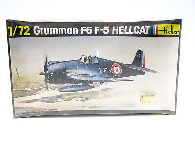 1/72 Heller Grumman F6 F-5 Hellcat - Sealed - 272 F6F-5 WWII USN Fighter Model