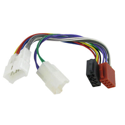 Wiring Lead Harness Adapter for Toyota ISO stereo Connector Lead Loom Cable