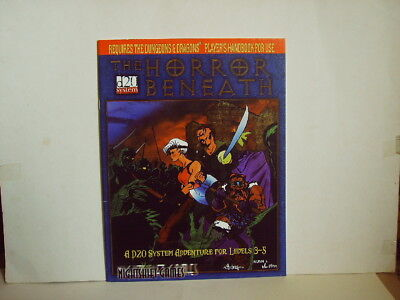The HORROR BENEATH - A d20 Adv. for Levels 3-5 # Team Frog 2000 / 32 Seiten
