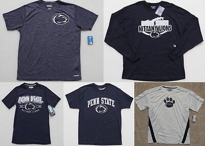 WHOLESALE RESALE LOT of 7 PENN STATE ADULT TEE T-SHIRTS LITTANY LIONS ASSORTED