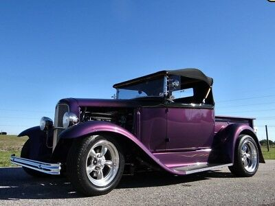 1931 Ford Model A Roadster 1931 FORD Model A Roadster Street Rod Pickup Show Muscle Classic Antique