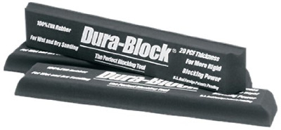 Dura-Block AF4403 Black Full Size Sanding Block
