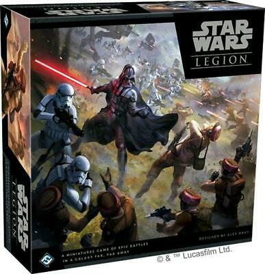 Star Wars - Legion Miniatures Game Core Set - Fantasy Flight Games Free Shipping