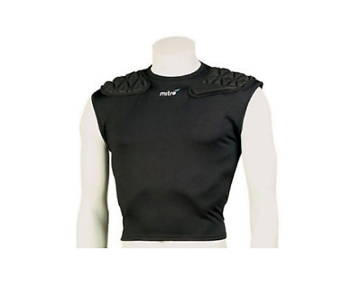 New Mitre Destroyer Rugby Padded shirt adult medium IRB approved protection