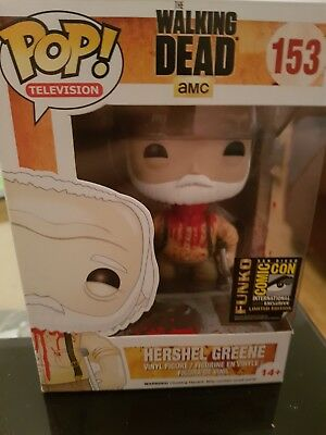 The Walking Dead: Headless Hershel Greene (#153) Funko Pop! Vinyl Rare!! SDCC