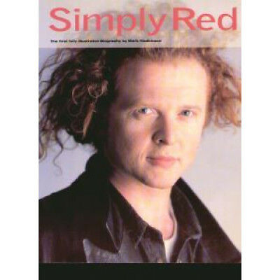 SIMPLY RED An Illustrated Biography BOOK UK Omnibus Press 1993 114 Page Book By
