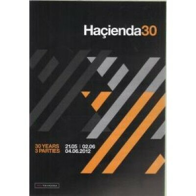 HACIENDA 30 30 Years 3 Parties FLYER UK Factory 2012 A5 Card Flyer For The 3