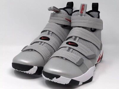 super popular 9a152 902ec NEW NIKE LEBRON Soldier XI 11 SFG Silver Bullet Size 12 897646-007 Shoes