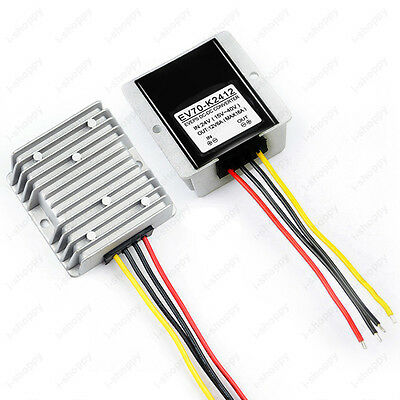 DC-DC Voltage Reducer Transfer Board Power Supply Inverter 24V Step Down to 12V