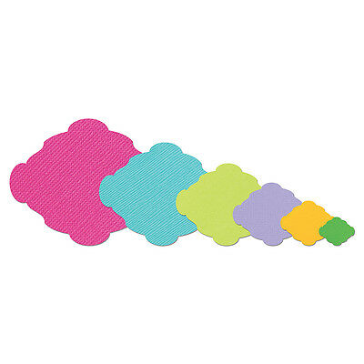 Sizzix Framelits Die Set 6PK - Labels, Ornamental