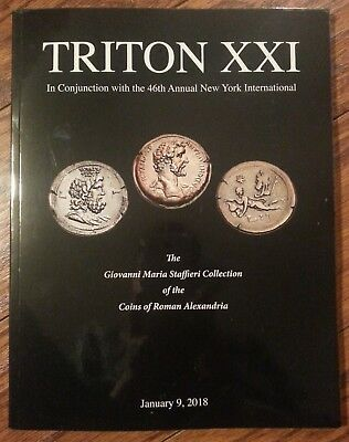 Triton XXI catalog 1 ancient Roman Alexandria Egypt coins Jan 2018