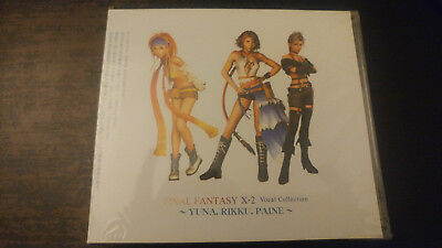 Final Fantasy X-2 Vocal Collection Yuna, Rikky, Paine Alca 8234