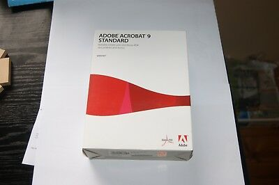 Adobe Acrobat 9 standard - Windows - Full Version Retail