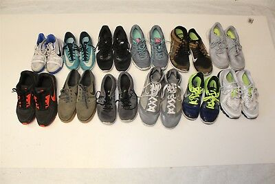 NIKE Lot Wholesale Used Shoes Rehab Resale Various Styles Pre-Owned bMgJ