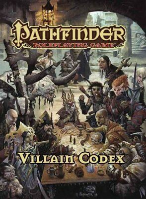 Villain Codex by Jason Bulmahn (2016, Hardcover)