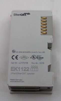 Beckhoff EK1122 2-Port EtherCAT Abzweig Ehtercat Junction NEU