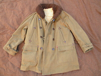 Paletot manteau Canadienne reglementaire France 40 WWII WW2 Maginot Narvik RBFM